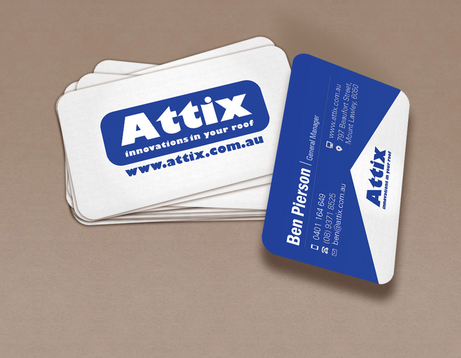 Attix | Businesscard | Flyer | Poster Design